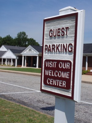 Welcome Center - Parking and Entry