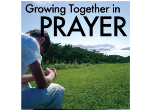 Prayer - Growing Together