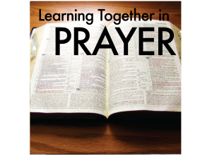 Prayer - Learning Together